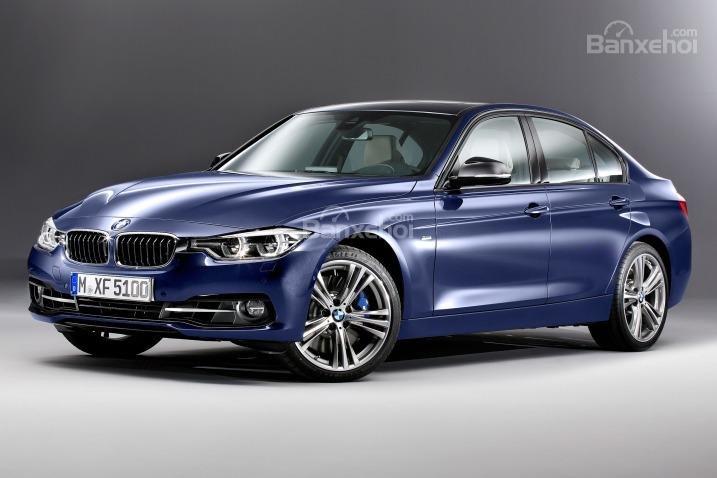 Đánh giá xe BMW 3 Series 2016: Ngoại thất không có quá nhiều thay đổi so với phiên bản trước.