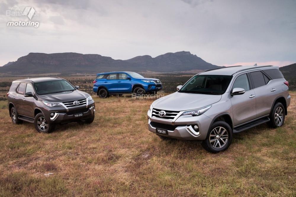 Toyota Fortuner 2016 có giá từ 47.990 USD tại thị trường Úc.