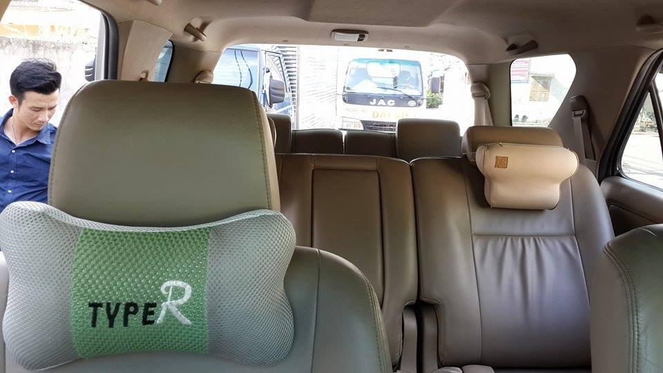 Gia đình cần bán Toyota Fortuner V 2012 phiên bản 2 cầu màu ghi bạc-5