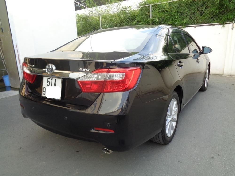 Xe Toyota Camry 2.5 G 2014 màu đen sản xuất 2014 đăng ký lần đầu tháng 7/2014 cần bán-2