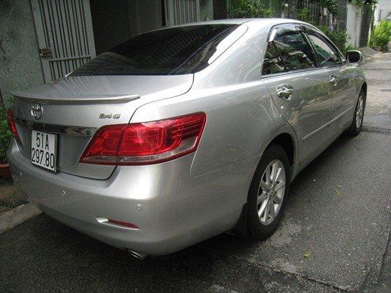 Gia đình bán Toyota Camry 2.4L SX cuối 2012 màu bạc nội thất màu da kem rất đẹp-23
