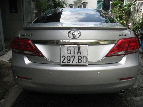 Gia đình bán Toyota Camry 2.4L SX cuối 2012 màu bạc nội thất màu da kem rất đẹp-4