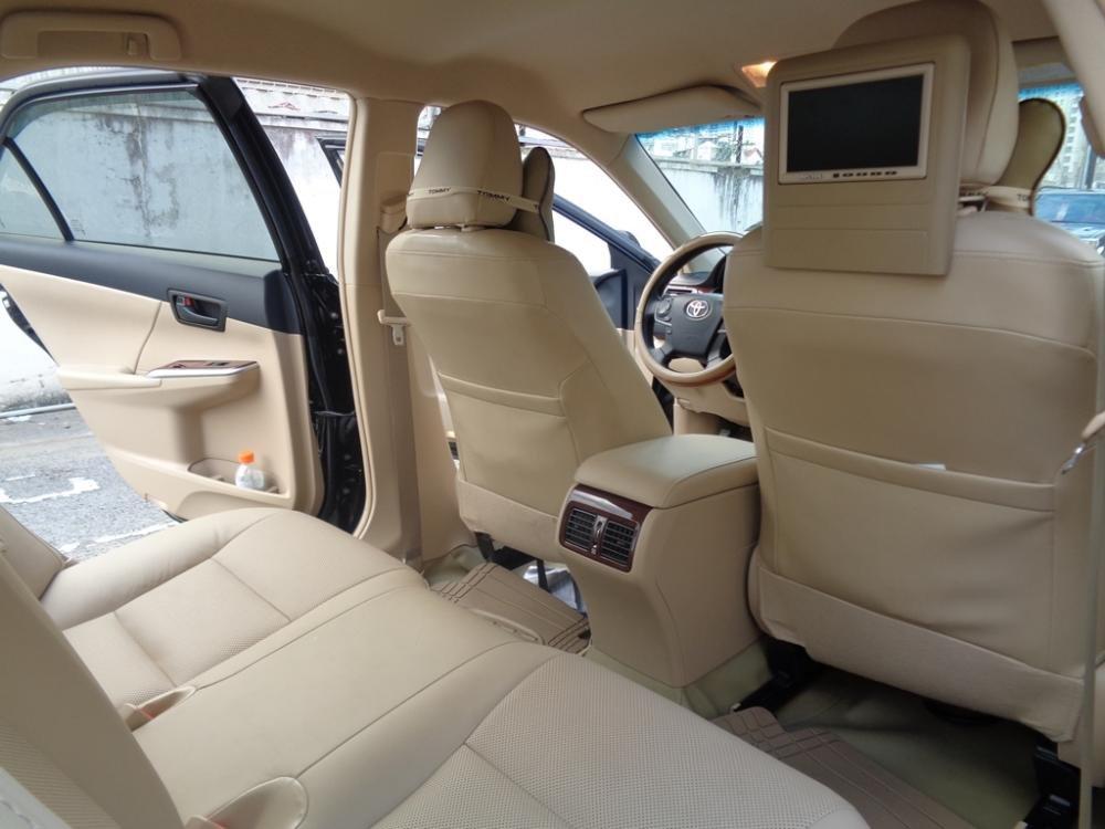 Xe Toyota Camry 2.5 G 2014 màu đen sản xuất 2014 đăng ký lần đầu tháng 7/2014 cần bán-7