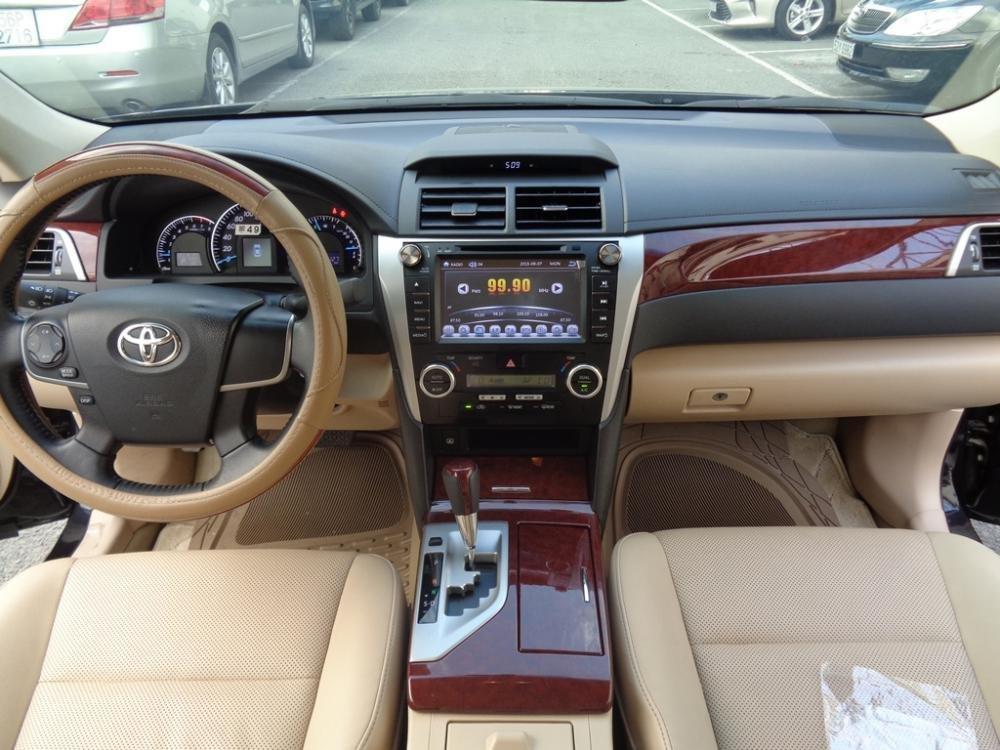 Xe Toyota Camry 2.5 G 2014 màu đen sản xuất 2014 đăng ký lần đầu tháng 7/2014 cần bán-9