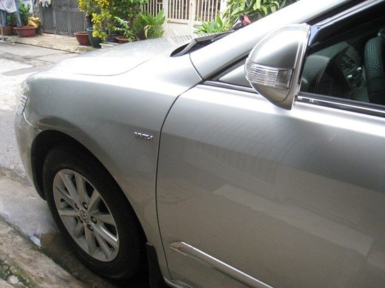 Gia đình bán Toyota Camry 2.4L SX cuối 2012 màu bạc nội thất màu da kem rất đẹp-22