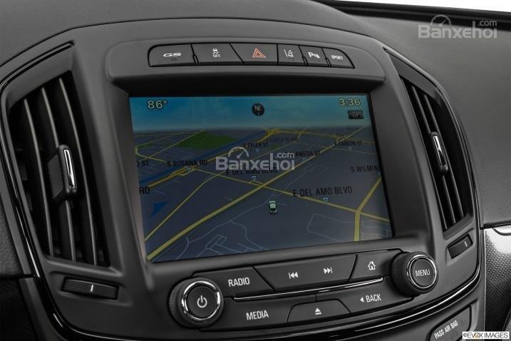Đánh giá tiện nghi trên xe Buick Regal 2015,