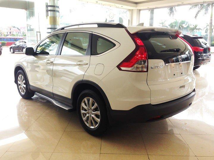 Bán Honda CR V đời 2015, màu trắng, giá cực tốt-2