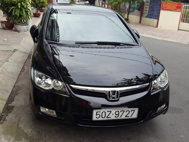Cần bán gấp Honda Civic đời 2007, màu đen, nhập khẩu chính hãng, còn mới, giá cực rẻ-1