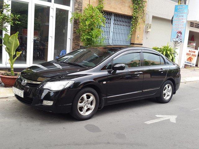Cần bán gấp Honda Civic đời 2007, màu đen, nhập khẩu chính hãng, còn mới, giá cực rẻ-0