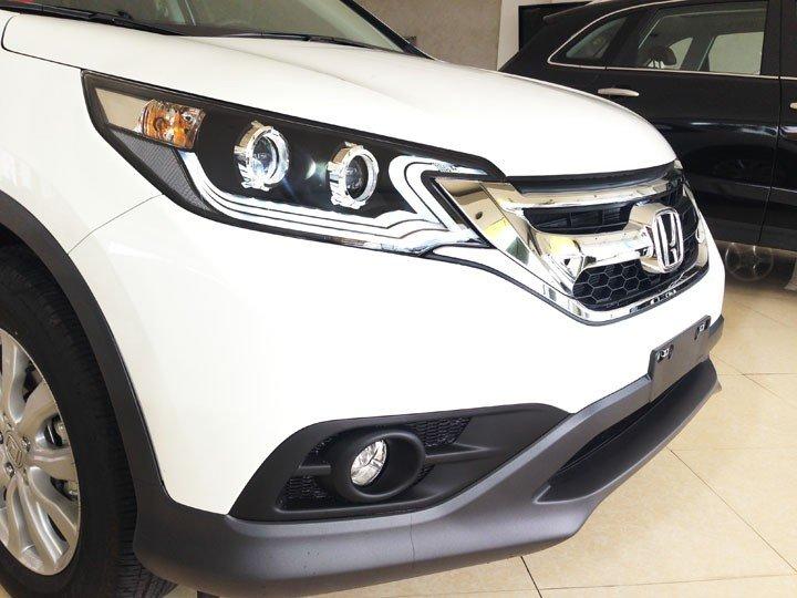 Bán Honda CR V đời 2015, màu trắng, giá cực tốt-1