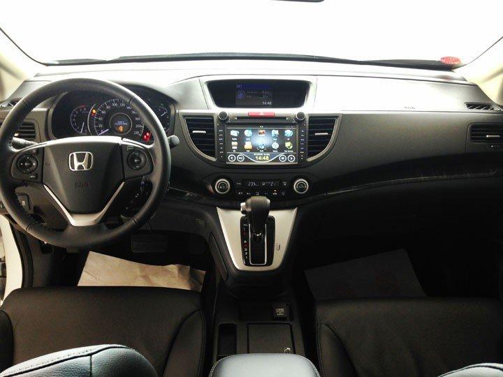 Bán Honda CR V đời 2015, màu trắng, giá cực tốt-3