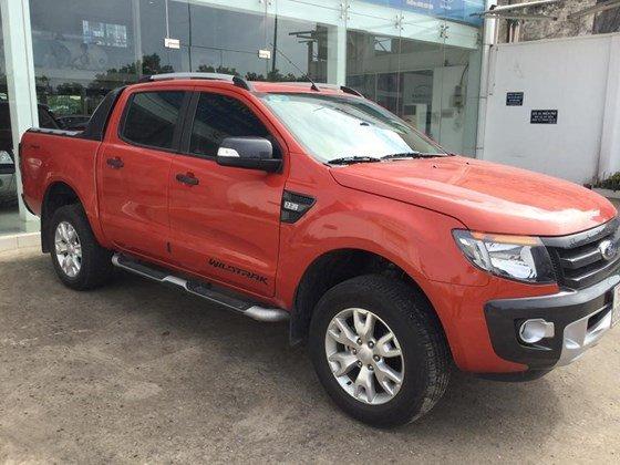 Ford Ranger đời 2014, màu đỏ, nhập khẩu nguyên chiếc, 665 triệu cần bán-0