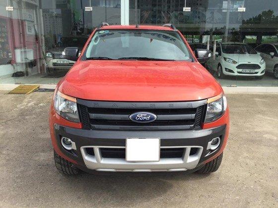 Ford Ranger đời 2014, màu đỏ, nhập khẩu nguyên chiếc, 665 triệu cần bán-1