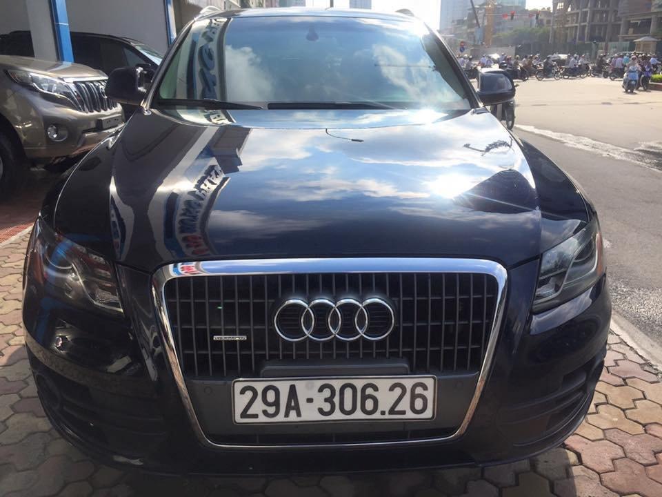 Audi Q5 Quattro 2010 đăng ký 2011 nhập Mỹ nguyên chiếc màu xanh đen rất đẹp-0
