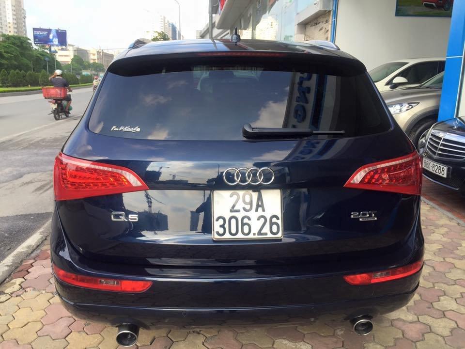 Audi Q5 Quattro 2010 đăng ký 2011 nhập Mỹ nguyên chiếc màu xanh đen rất đẹp-7