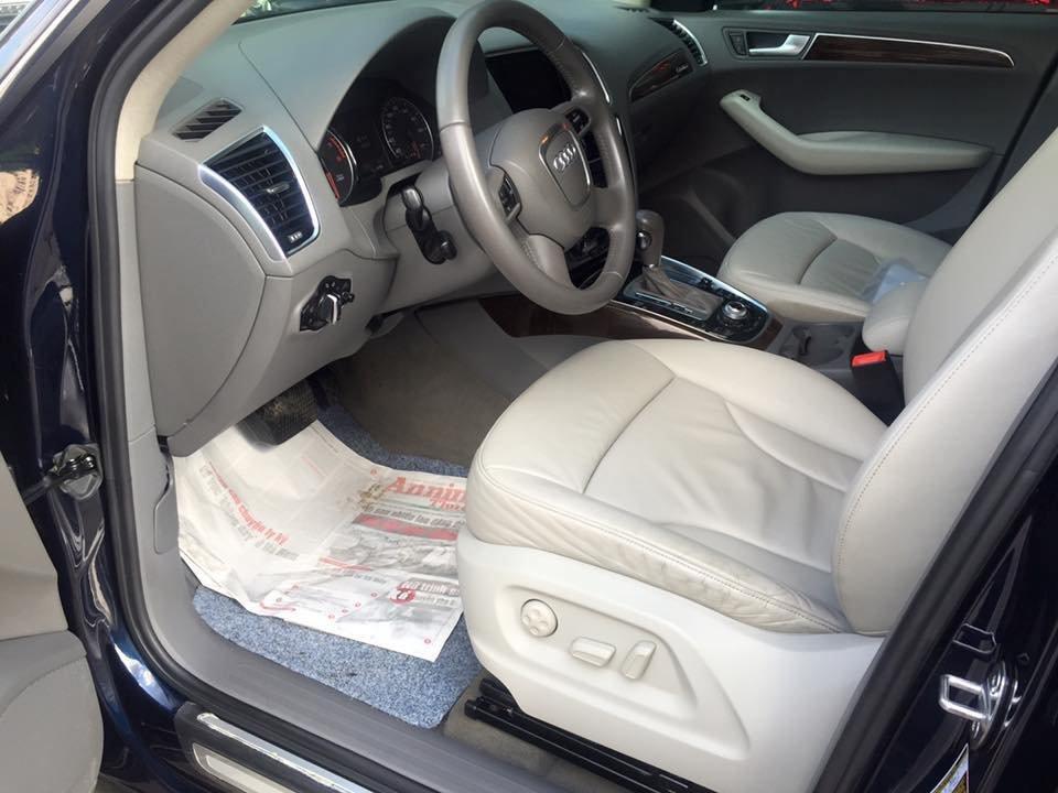 Audi Q5 Quattro 2010 đăng ký 2011 nhập Mỹ nguyên chiếc màu xanh đen rất đẹp-3