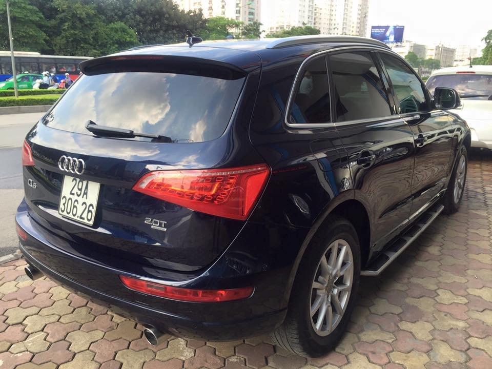 Audi Q5 Quattro 2010 đăng ký 2011 nhập Mỹ nguyên chiếc màu xanh đen rất đẹp-6