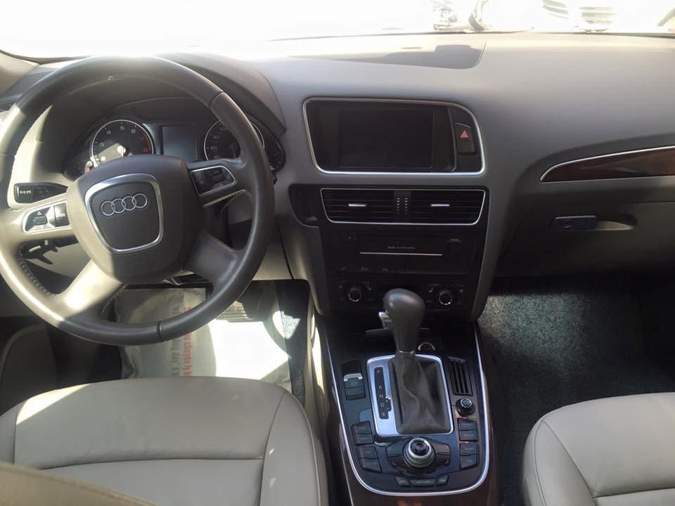 Audi Q5 Quattro 2010 đăng ký 2011 nhập Mỹ nguyên chiếc màu xanh đen rất đẹp-2
