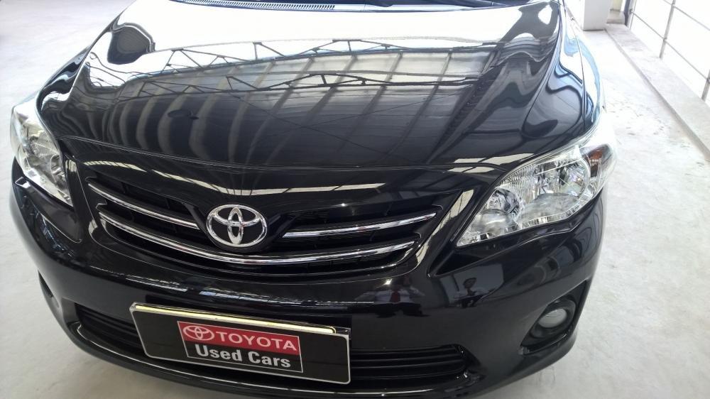 Bán xe Toyota Corolla 1.8MT đời 2012, màu đen, xe nhập  -2