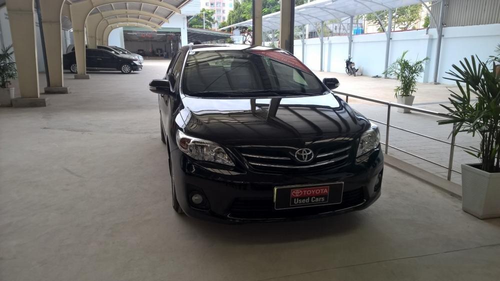 Bán xe Toyota Corolla 1.8MT đời 2012, màu đen, xe nhập  -0
