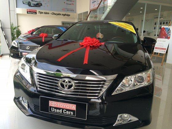 Cần bán gấp xe Toyota Camry đời 2013, màu đen, nhập khẩu chính hãng-3