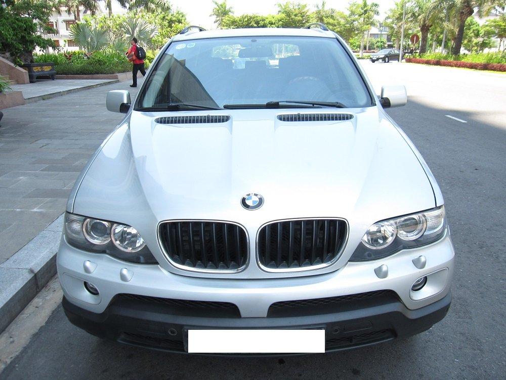 Bán BMW X5 2005, màu bạc, nhập khẩu chính hãng, chính chủ-0