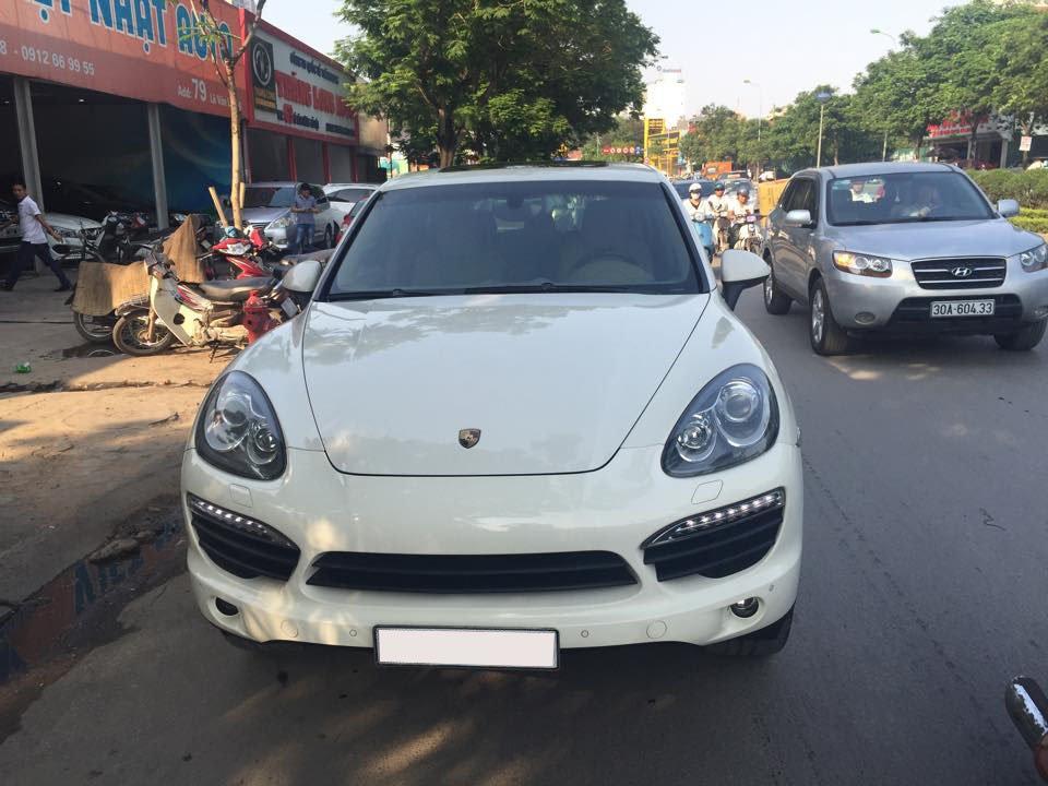 Xe Porsche Cayenne đời 2011, màu trắng, xe nhập, chính chủ-0
