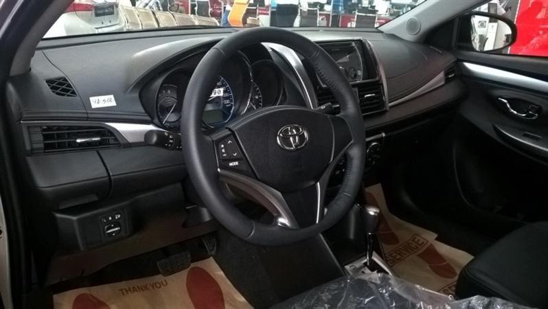 Bán Toyota Vios G - mới trong nước đời 2015 xe đẹp long lanh-5