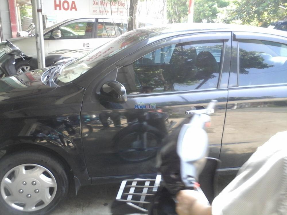 Bán ô tô Daewoo Gentra đời 2008, màu đen, như mới-2