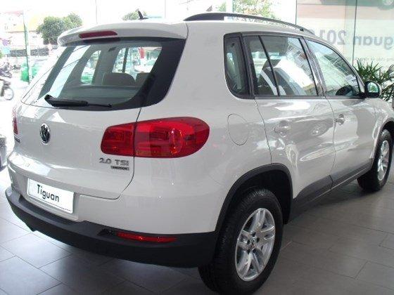 Xe Volkswagen Tiguan 2015, màu trắng, nhập khẩu nguyên chiếc-3