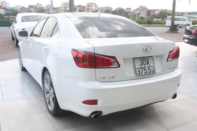 Bán Lexus IS 250 màu trắng nội thất kem model 2010-3