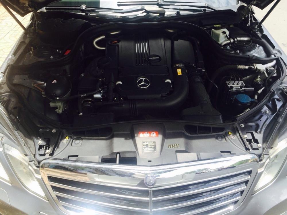 Mercedes Ben E 250 màu xám nòng súng. Loại cao cấp công ty sử dụng bảo dưỡng tất cả-5