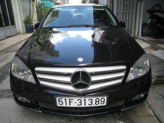 Bán Mercedes Benz C230 2.5L ngoại thất màu đen, nội thất da mới zin toàn bộ, Sx cuối 2009 model 2010 mẫu mới-6