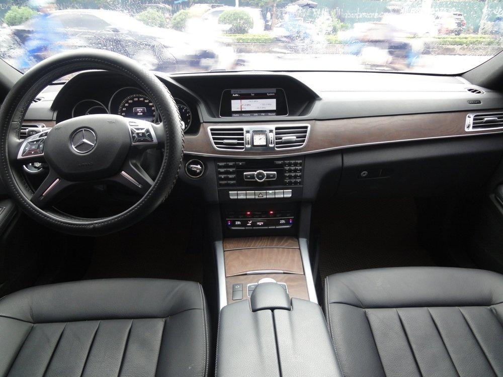 Việt Nhật Auto bán xe Mercedes E200 đời 2015, màu trắng-2