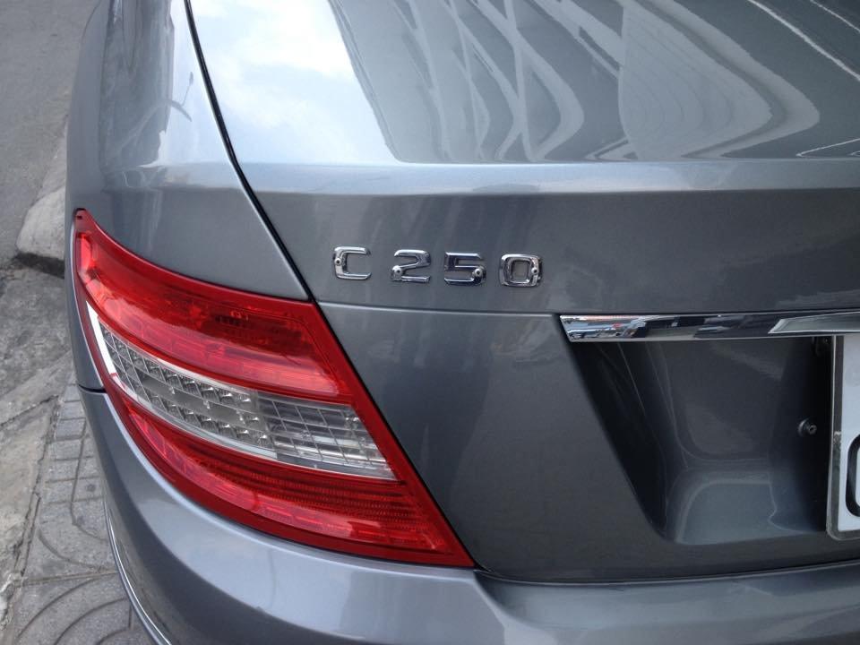 Cần bán gấp Mercedes C250 đời 2009, màu bạc, nhập khẩu nguyên chiếc  -5