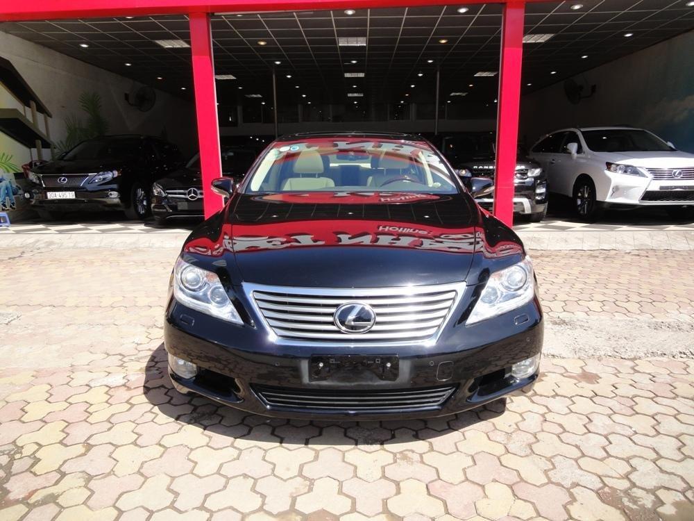 Việt Nhật Auto cần bán xe Lexus LS 460L AT 2010 xe đi được 30000Km, xe sử dụng nhiêu liệu xăng-0