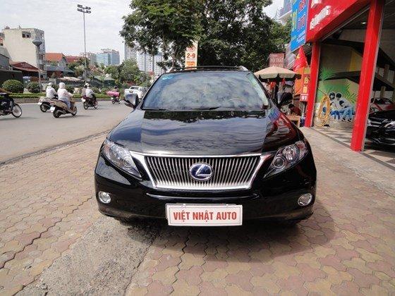 Việt Nhật Auto cần bán xe Lexus RX450H đời 2011, màu đen, xe tư nhân chính chủ-0