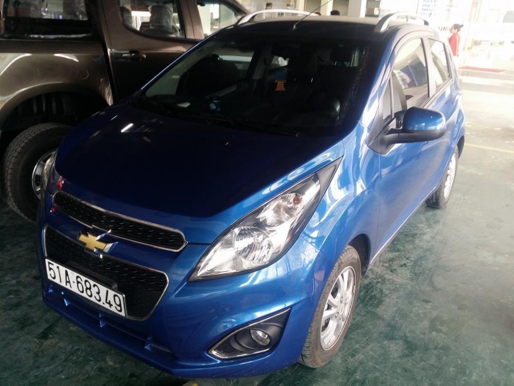 Bán ô tô Chevrolet Spark đời 2013, nhập khẩu, số tự động-0