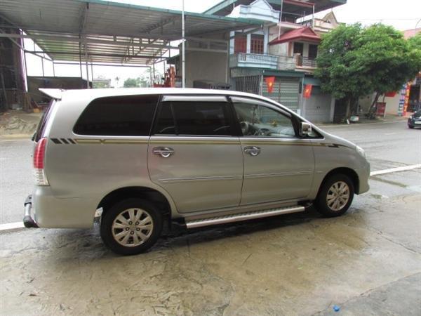 Xe Toyota Innova V sản xuất năm 2008, số tự động, xe biển Hà Nội, hồ sơ rút nhanh gọn giá 555 tr-4