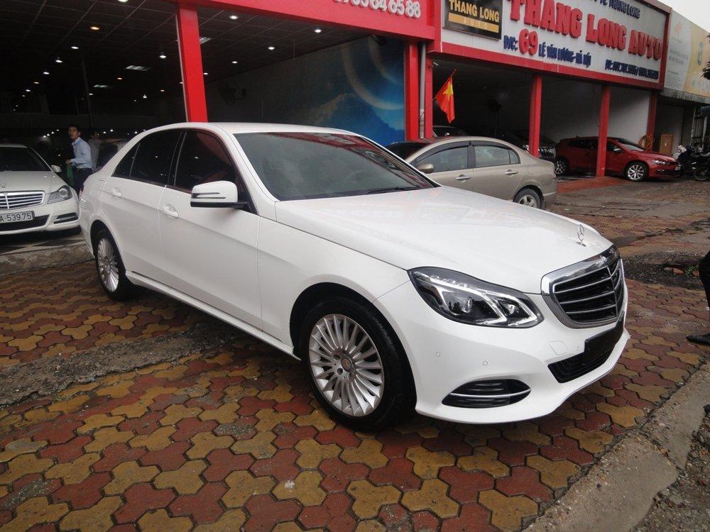 Việt Nhật Auto bán xe Mercedes E200 đời 2015, màu trắng-1