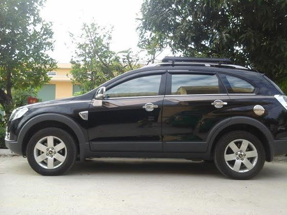 Gia đình cần bán xe Captiva MAXX LT sản xuất và đăng ký 2010, màu đen, số tay-8
