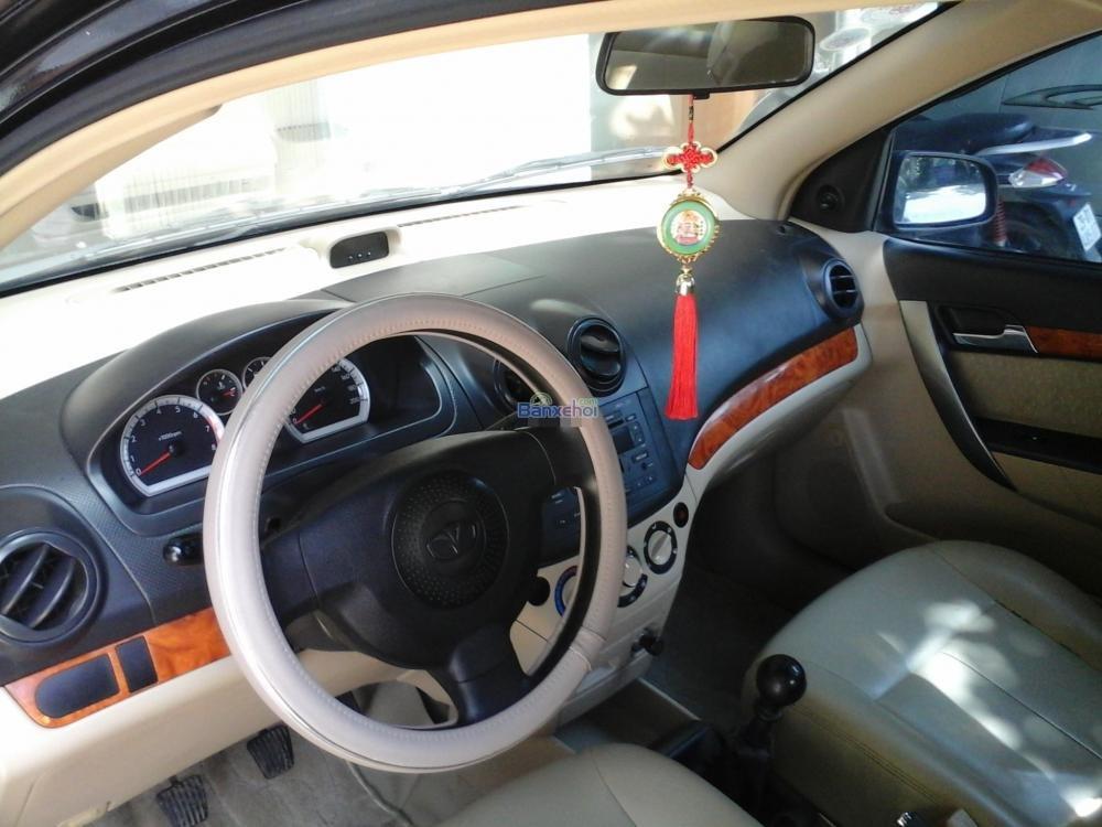 Bán ô tô Daewoo Gentra đời 2008, màu đen, như mới-4