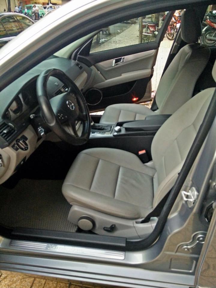 Mercedes C200, dòng Avangarde, màu bạc, đời 2008 cần bán-2