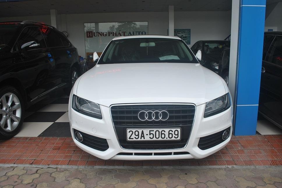 Bán gấp xe Audi A5 đời 2011, màu trắng, nhập khẩu chính hãng, chính chủ-0