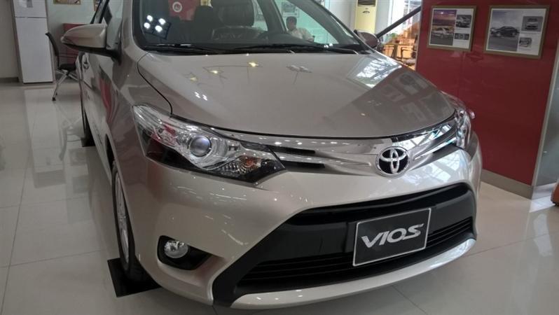 Bán Toyota Vios G - mới trong nước đời 2015 xe đẹp long lanh-0