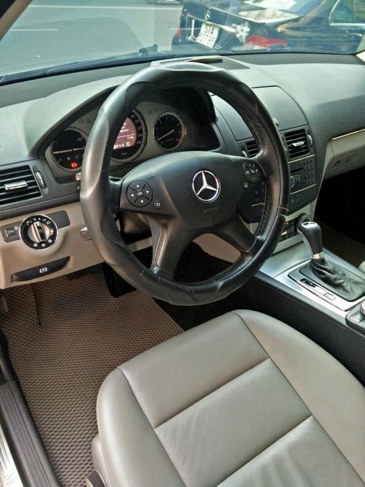 Mercedes C200, dòng Avangarde, màu bạc, đời 2008 cần bán-4