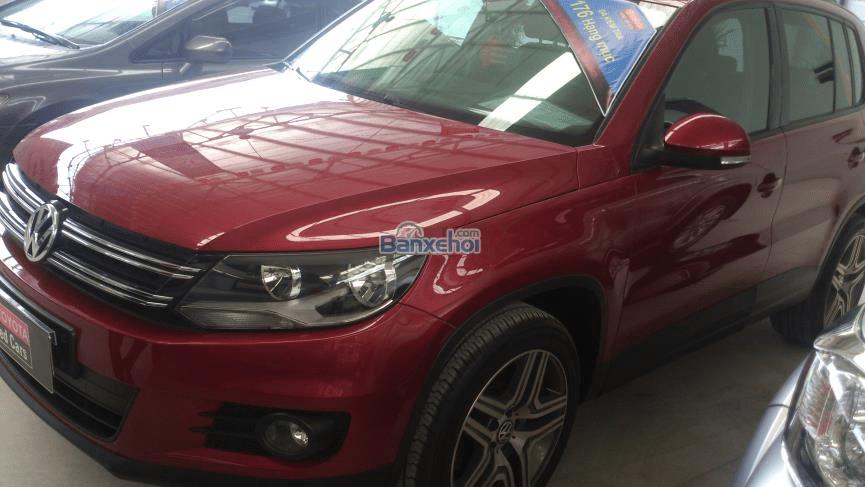 Cần bán gấp Volkswagen Tiguan LE đời 2012, màu đỏ, nhập khẩu chính hãng, giá 960tr-7