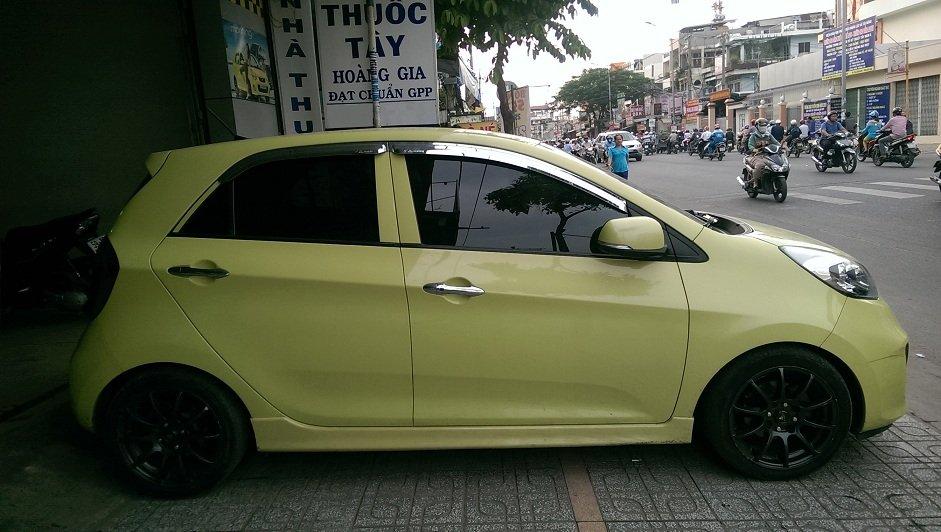 Bán Kia Morning gần full option, nhập nội khẩu Korea mẫu mới nhất SX 2012 đăng ký 2014-4