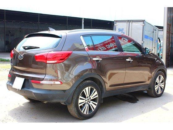 Bán ô tô Kia Sportage đời 2014, màu nâu, nhập khẩu, số tự động, giá 865tr nhanh tay liên hệ-3