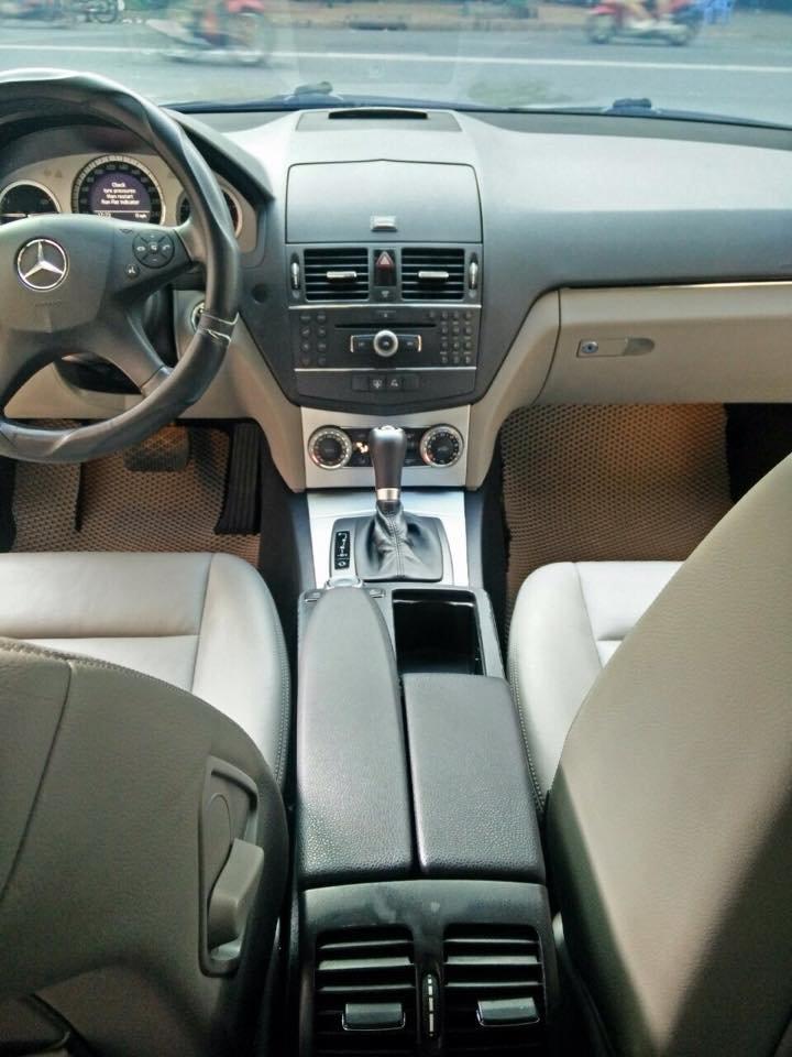 Mercedes C200, dòng Avangarde, màu bạc, đời 2008 cần bán-5